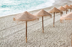 Nerja beach Stock Photo