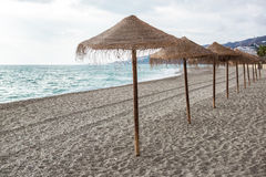 Nerja beach Royalty Free Stock Photos