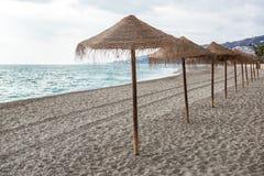 Nerja beach Royalty Free Stock Photos