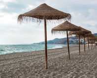 Nerja beach Royalty Free Stock Images