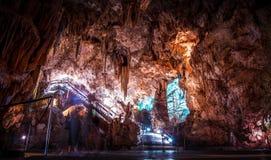 Nerja cave entrance Royalty Free Stock Photos