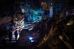 Nerja cave Stock Photography
