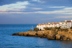 Nerja Coastline in Spain Royalty Free Stock Photography