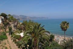 Nerja, Costa del Sol, Spain. Nerja famous resort on Costa del Sol, Malaga, Spain Royalty Free Stock Photography