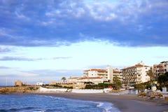 Nerja em Costa del Sol imagem de stock royalty free