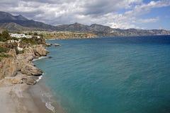 Nerja famous resort on Costa del Sol, Spain. Nerja famous resort on Costa del Sol, Malaga, Spain Royalty Free Stock Photo