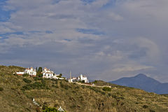 Nerja mountains Royalty Free Stock Photos
