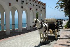 Nerja, resort in Andalusia, Spain Stock Photography