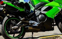 NERJA, SPAGNA - 10 giugno 2018 raduno del motociclo nel Anda famoso immagine stock