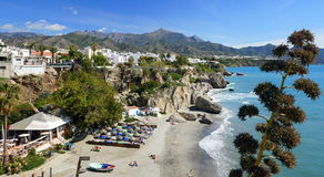 Nerja, Spain Stock Images