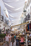 Nerja street Stock Photos