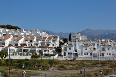 Nerja suburbs Stock Photo