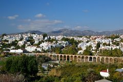 Nerja suburbs Stock Photography
