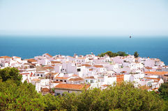 Nerja the town Stock Image