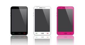 Nero, bianco & rosa Immagine Stock