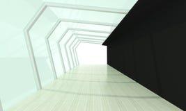 Nero d'ossa di vetro Fotografie Stock Libere da Diritti