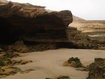 Nero della spiaggia Fotografia Stock Libera da Diritti