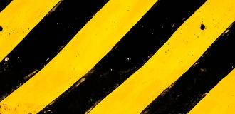 Nero e giallo tradizionali Immagine Stock Libera da Diritti