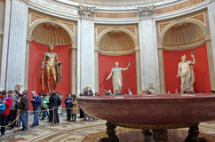 Nero's porphyry bathtub Royalty Free Stock Photos
