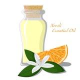 Nerolietherische olie stock afbeeldingen