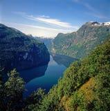 Nerov Fjord, Norway Stock Photos