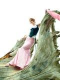 Nervöse Art und Weisebaumusteraufstellung Stockfoto