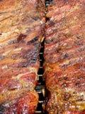 Nervature arrostite col barbecue Immagini Stock Libere da Diritti
