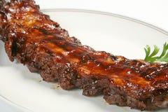 Nervature del BBQ Fotografie Stock