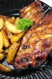 Nervature e patate immagine stock