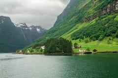 Nerven Fjord Lizenzfreie Stockfotografie