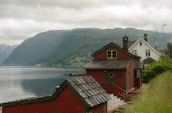 Nerven Fjord Lizenzfreie Stockfotos