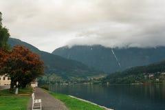 Nerven Fjord Stockfoto