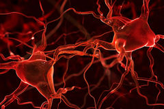 Nerves abstract background Royalty Free Stock Photography