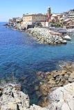 Nervi, belle petite ville près de Gênes photographie stock libre de droits