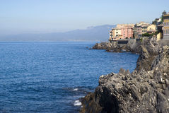 Nervi - Genoa, Italy Royalty Free Stock Images
