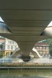 Nervion river bridge Stock Photography