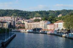 Nervion Riverin Bilbao Stock Photo