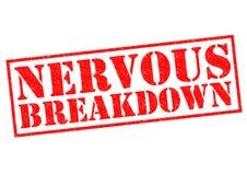 NERVOUS BREAKDOWN Royalty Free Stock Image