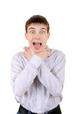 Nervous Teenager Royalty Free Stock Photos