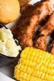 Nervure de BBQ Image libre de droits