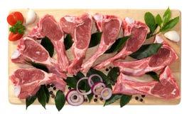 Nervures d'agneau Photo stock