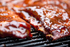 Nervures de BBQ Photo stock