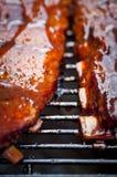 Nervures de BBQ image stock