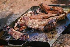 Nervures de porc Image libre de droits