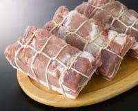 Nervures de porc Photographie stock