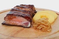 Nervures de porc avec Image libre de droits