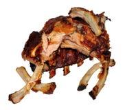 Nervures de porc cuites Photo libre de droits