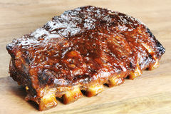 Nervures grillées de barbecue Images stock
