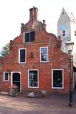 Nes,阿默兰岛,荷兰最旧的司令员房子  库存图片