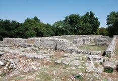 Nesactium Roman Town Fotografia de Stock Royalty Free